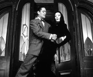 couple, addams family, and the addams family image