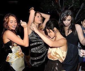 miley cyrus, Taylor Swift, and selena gomez image