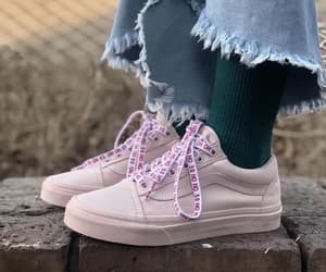 fashion, pink, and sneaker image