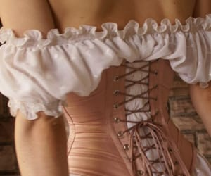 corset, royalty, and fashion image
