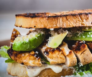 Chicken and sandwich image