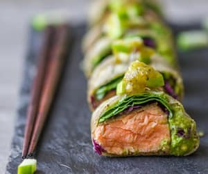 asia, avocado, and food image
