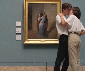 art, couple, and love image