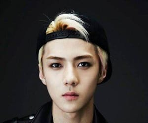 exo, oh sehun, and wolf image