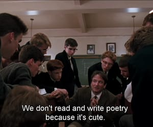 poetry, dead poets society, and quotes image