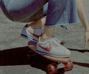 aesthetic, skateboard, and vintage image