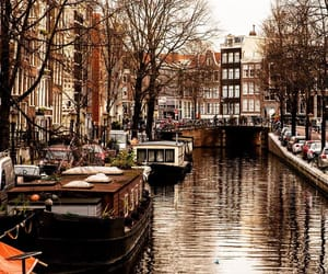 amsterdam, travel, and ponts image