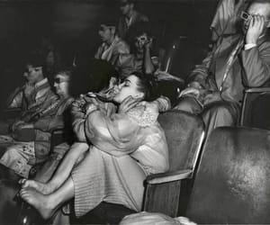 kiss, couple, and cinema image