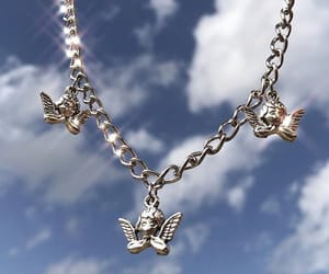 accessories, angels, and cherubs image