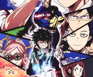 anime, karishma, and ochako uraraka image