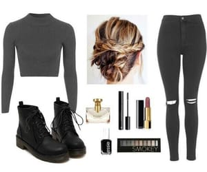Polyvore, black, and fashion image