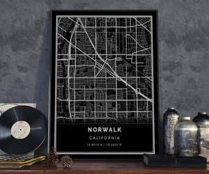 etsy, norwalk, and poster print image