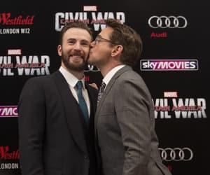 civil war, chris evans, and Marvel image