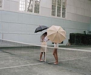 prep, umbrella, and preppy image