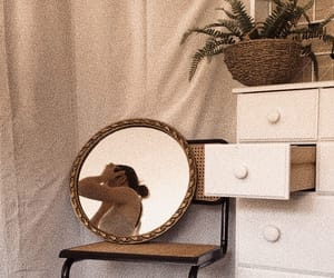 chic, mirror, and mood image