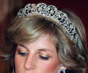 crown, tiara, and princess diana image