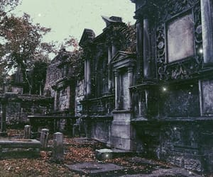 belgium, cemetery, and goth image