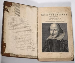 books, old, and shakespeare image