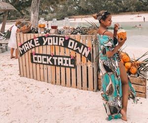 beach, holiday, and Island image