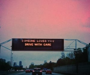 love, drive, and car image