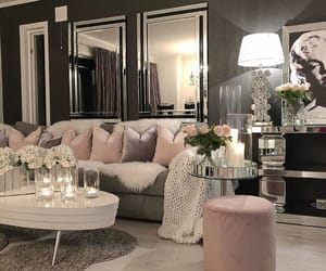 beautiful goals, room decoration pink, and luxury chic love image