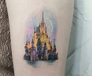 art, castle, and disney image