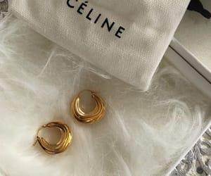 jewelry, celine, and earrings image