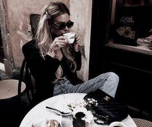 caffeine, chanel, and coffee image