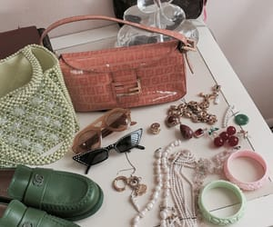 fashion, green, and jewelry image