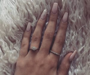 nails, accessories, and pink image