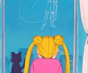anime, usagi tsukino, and love image