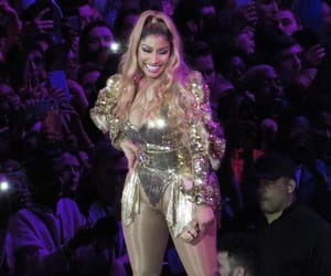 smiling, tour, and nicki minaj image