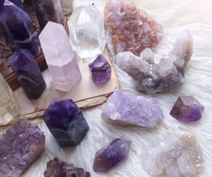 crystal, amethyst, and witch image