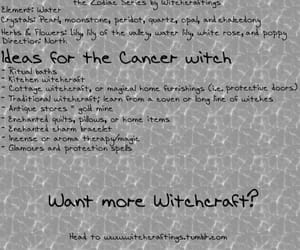 cancer, quotes, and witch image