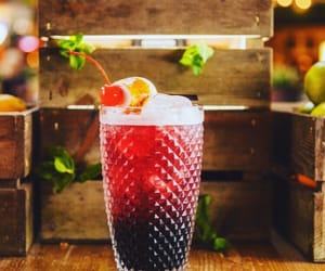 alcohol, cocktail, and drinks image