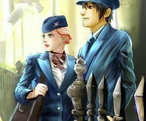 anime, fan art, and love image