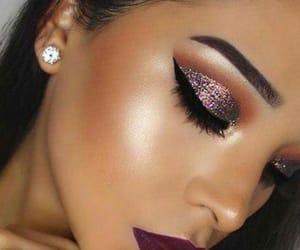 contour, girls, and makeup image
