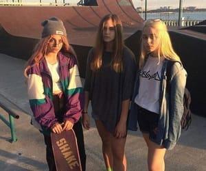 girl, skate, and tumblr image