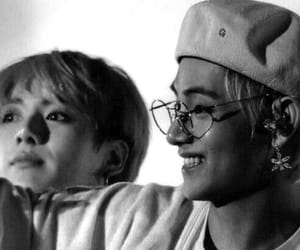 black and white, boy, and jin image