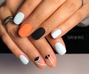 beautiful, ring, and nail image