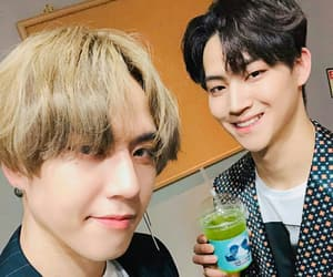 im jaebum, kim yugyeom, and jus2 image