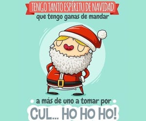 christmas, actitud, and divertido image