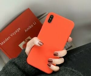 orange, ebay, and cell phone accessories image