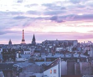 paris, travel, and skyline image