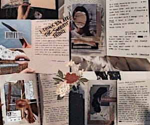 aesthetic, Collage, and Paper image