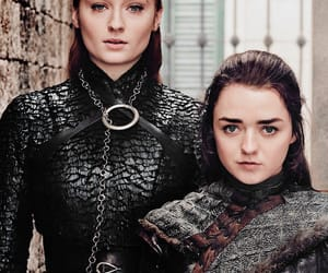 arya stark, game of thrones, and sophie turner image