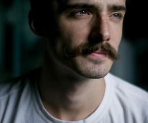 boy, mustache, and man image