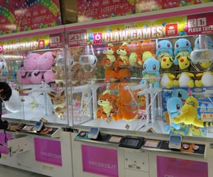 anime, claw machine, and game center image