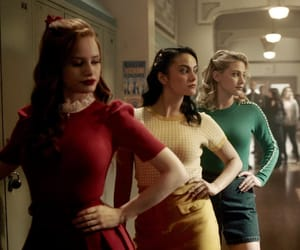 riverdale, cheryl blossom, and betty cooper image
