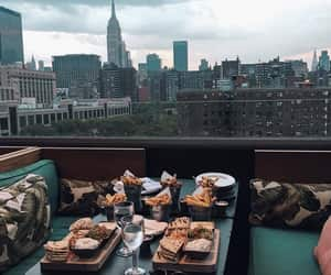 food, city, and view image